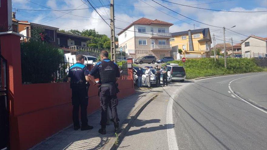 Detenido un vecino de la mujer asesinada en Pontevedra