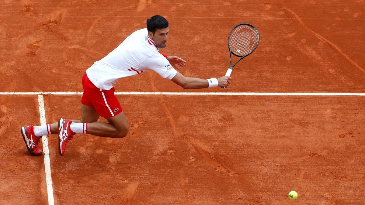 Djokovic, eliminado en octavos de final de Montecarlo.