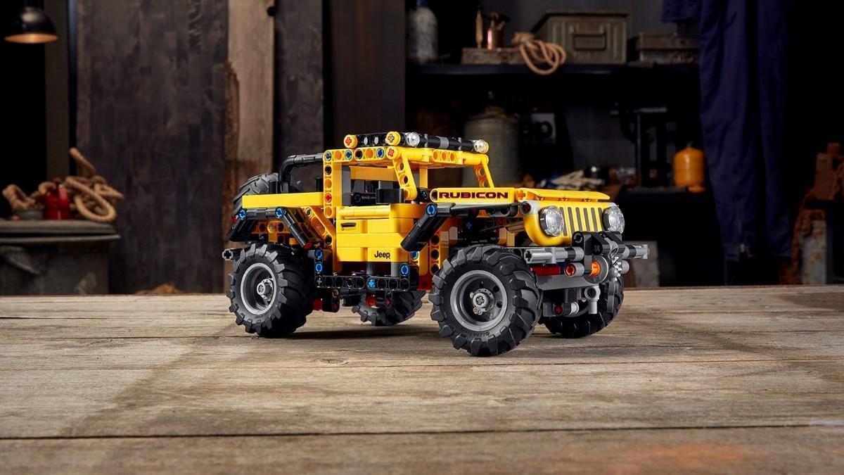Nuevo Jeep Wrangler de Lego Technic, el regalo perfecto para Navidad