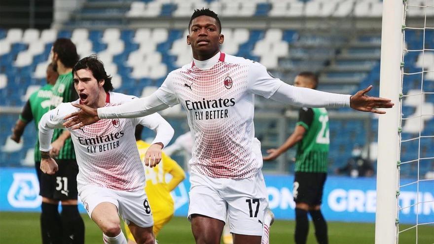 El portugués Leao, del AC Milan, marca el gol más rápido de la historia de la liga italiana