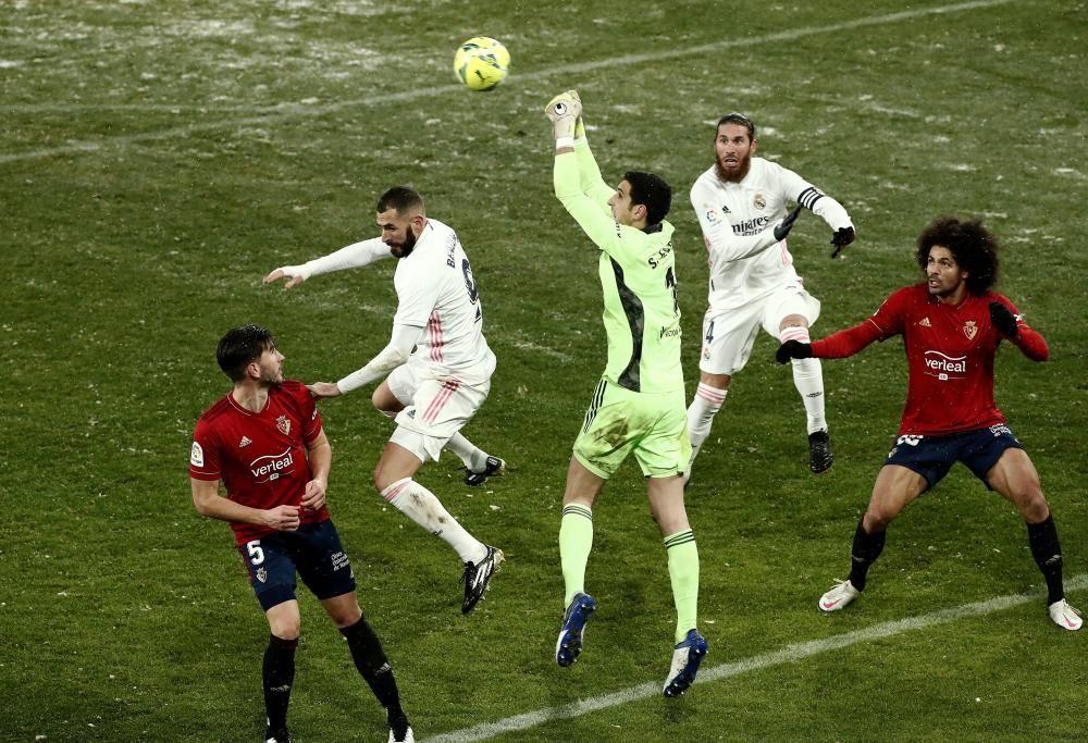 LaLiga Santander: Osasuna- Real Madrid.