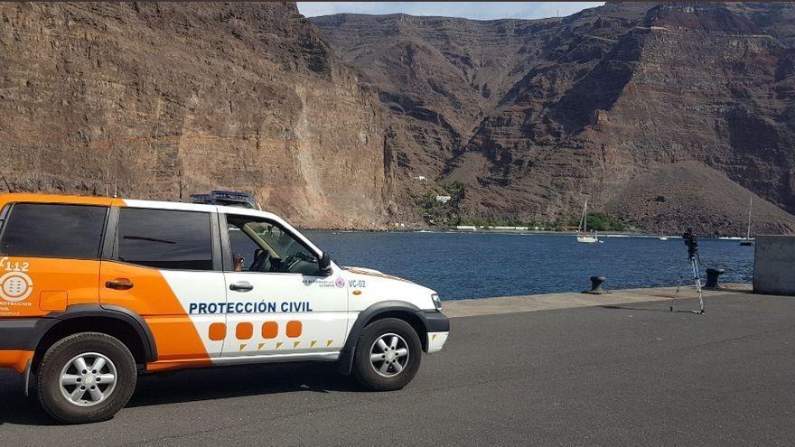 El Cabildo de La Gomera pide ayuda para solucionar los daños del derrumbe de Argaga
