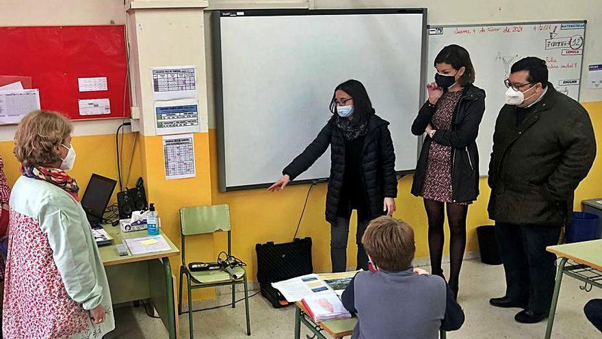 Los centros educativos de Oviedo presentan niveles de CO2 dentro de los límites