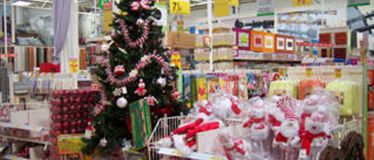 Las familias gastarán en Navidad un 53% menos que en 2009
