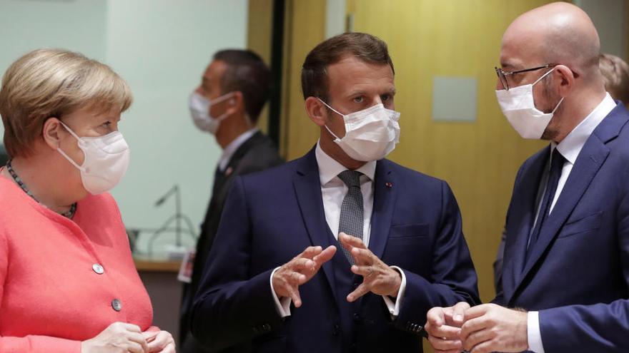 La división marca el inicio de la cumbre de la UE sobre la reconstrucción