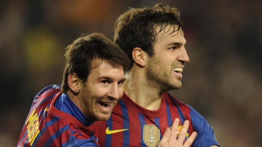 """Messi quiere """"acabar en el Barça su carrera"""", según Cesc"""