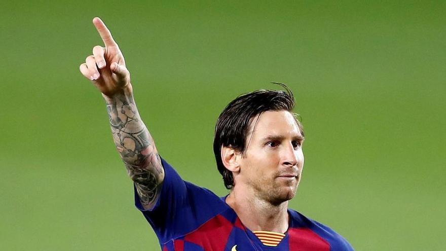 Messi, a un gol de los 700 entre el Barcelona y Argentina