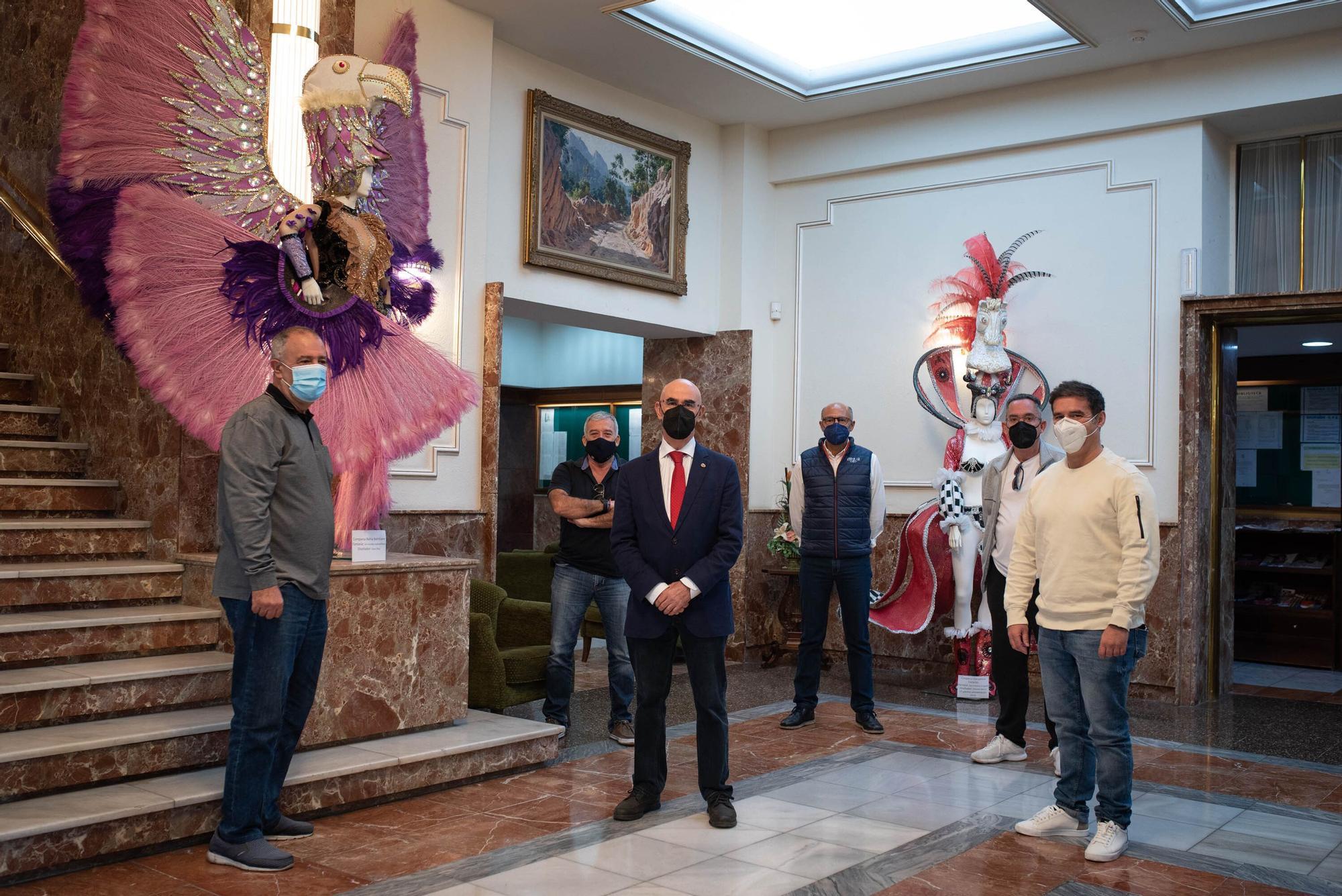 Círculo de Amistad XII de Enero, en el Carnaval Virtual