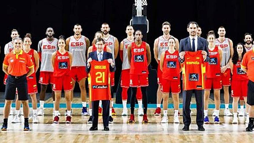 CaixaBank acompanya les seleccions estatals de bàsquet a Tòquio