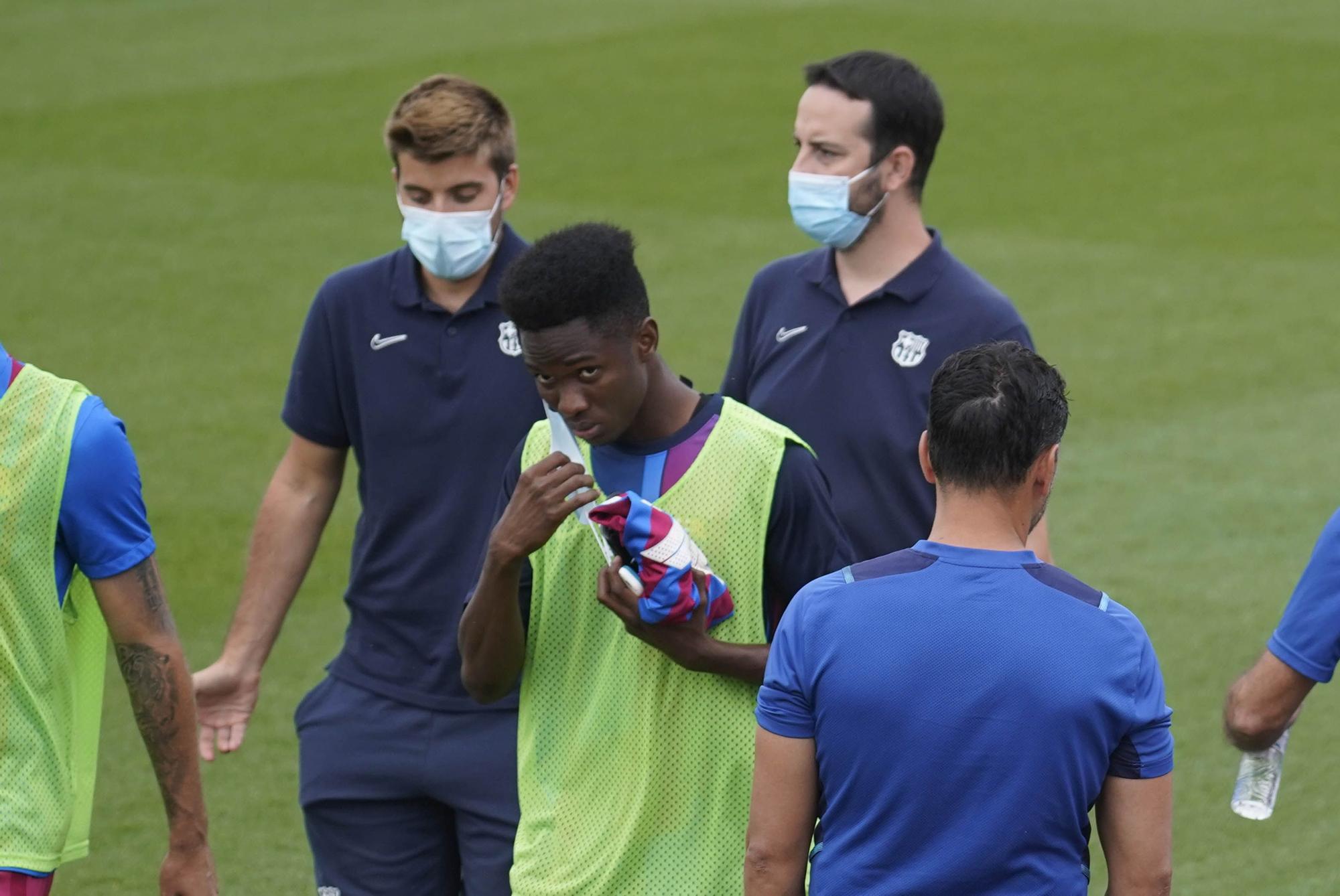 El Girona - Barça B en imatges