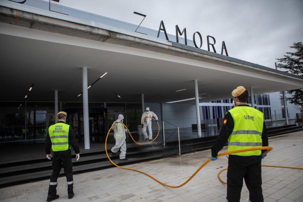 Intervención de la UME en Zamora