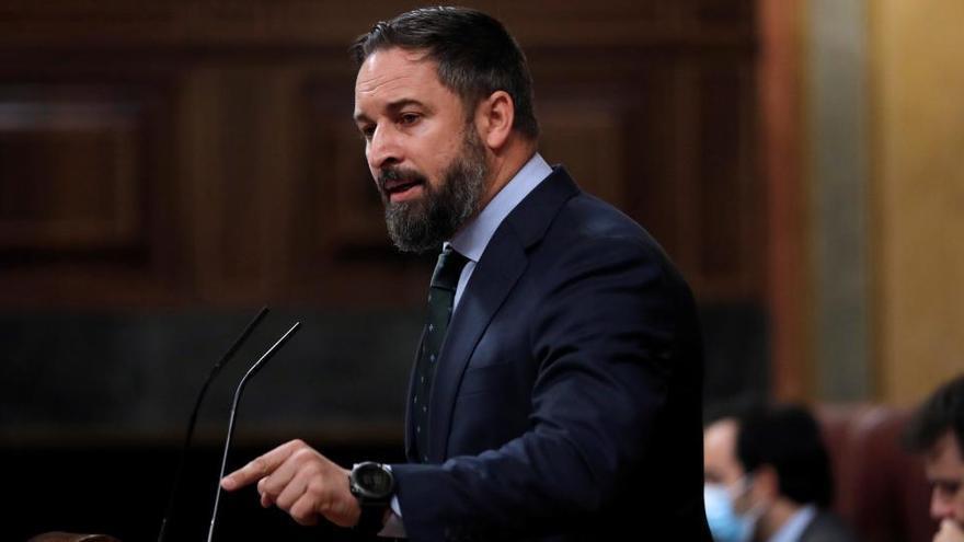 Vox abre la puerta a que Abascal no lidere la moción