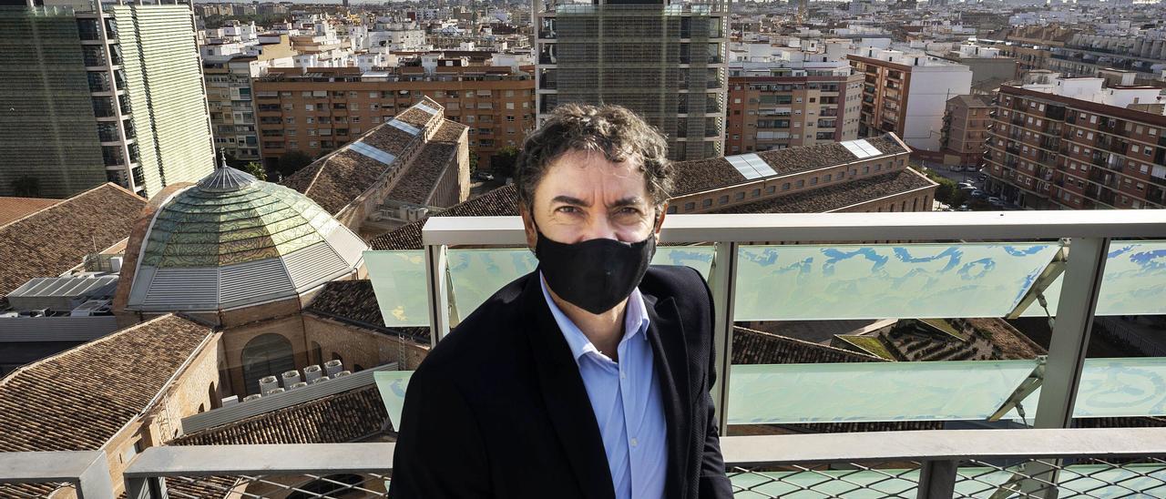 Francesc Colomer, secretario autonómico de Turismo.  germán caballero