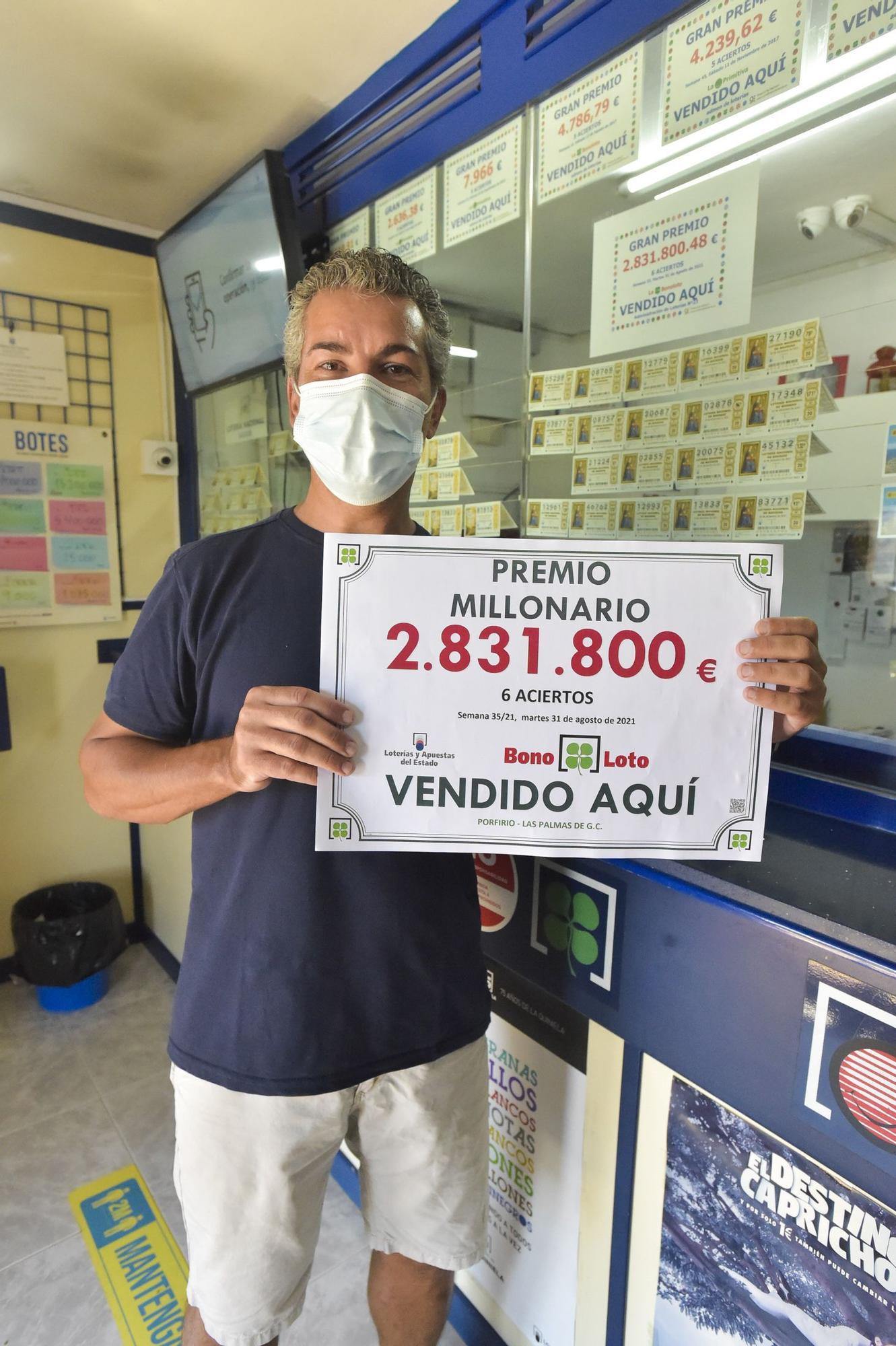 Administración que repartió un premio de 2,8 millones de euros en la Bonoloto
