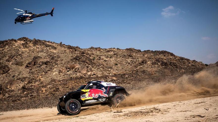 Sainz guanya la primera etapa del Dakar i lidera la general