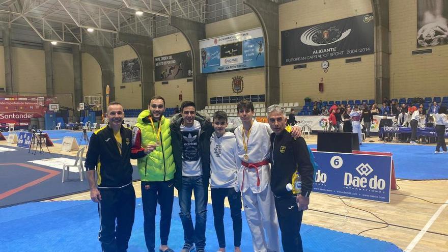 Ramon Ruiz i Pau Delgado sumen l'or per al Tae Sport