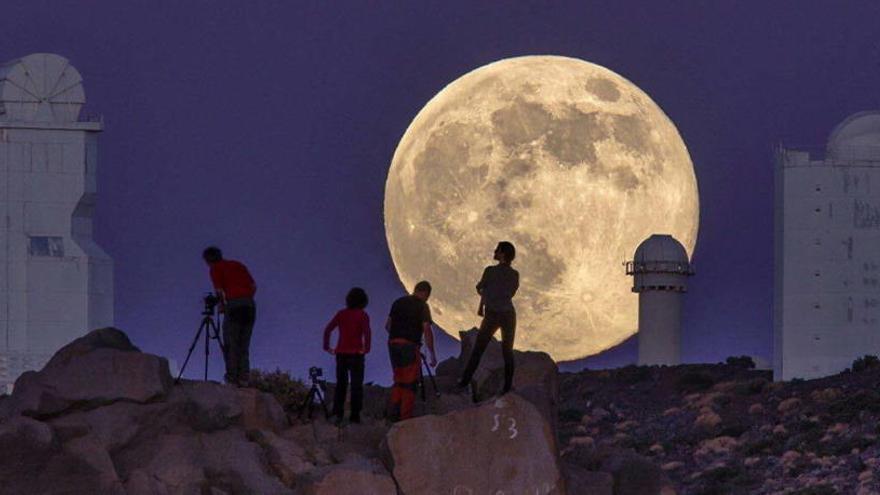 La primera superluna del año