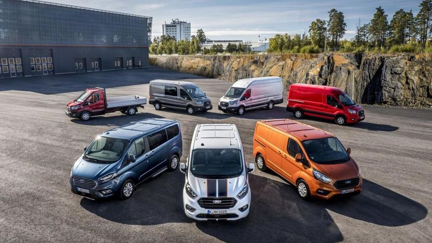 Ford Transit 2019, màxima eficiència