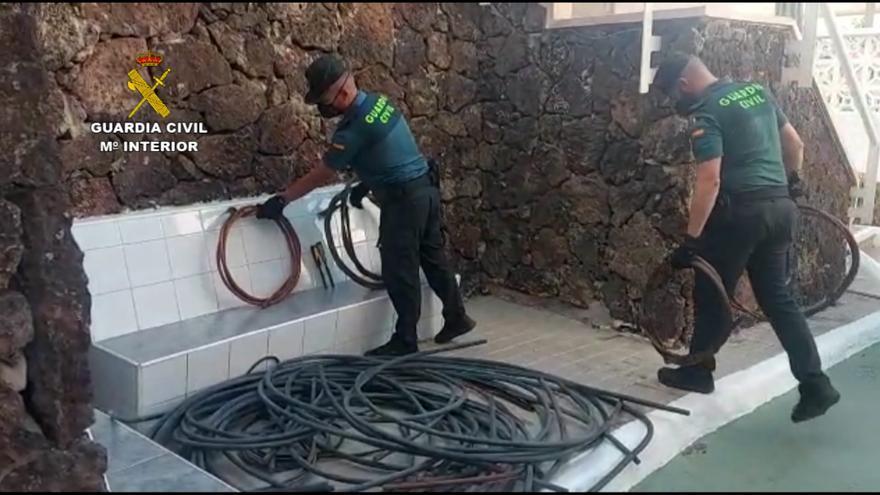Robo de cableado de cobre en Fuerteventura