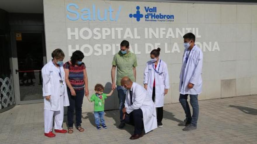 Trasplanten per primer cop els pulmons d'un nadó donats en aturada cardíaca
