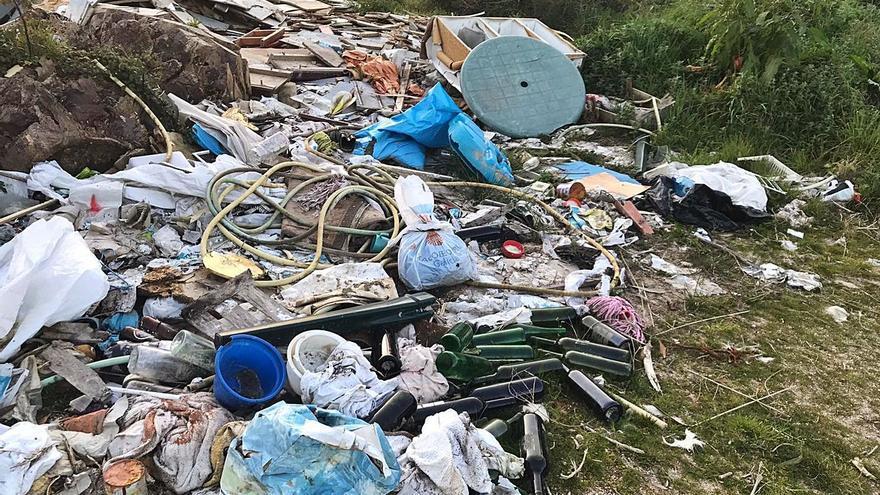 Cerdedo-Cotobade solicita ayuda a la Xunta para poder erradicar un vertedero ilegal