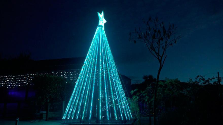 La banda sonora del árbol de Navidad de Gondomar: Mi padre es un elfo - Sra. Rushmore