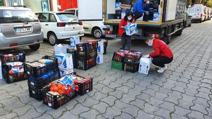 Cruz Roja atendió en Marbella a más de  450 personas en los centros de inclusión en la pandemia
