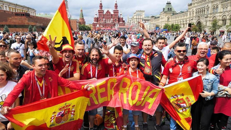 Las mejores imágenes del España-Rusia