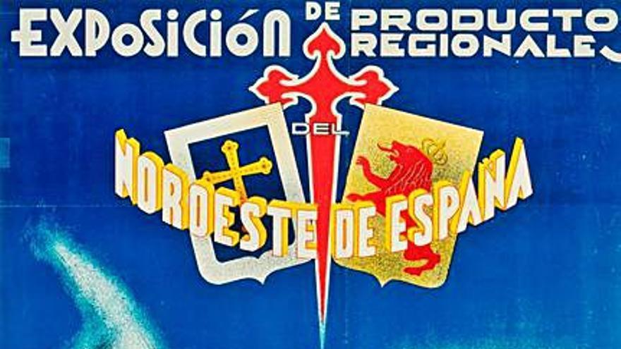 Un cartelu inéditu pal Muséu del Pueblu d'Asturies