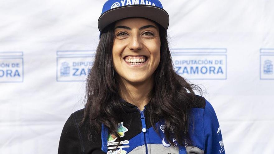 La piloto zamorana Sara García, mejor deportista de los premios Pódium del Deporte de Castilla y León