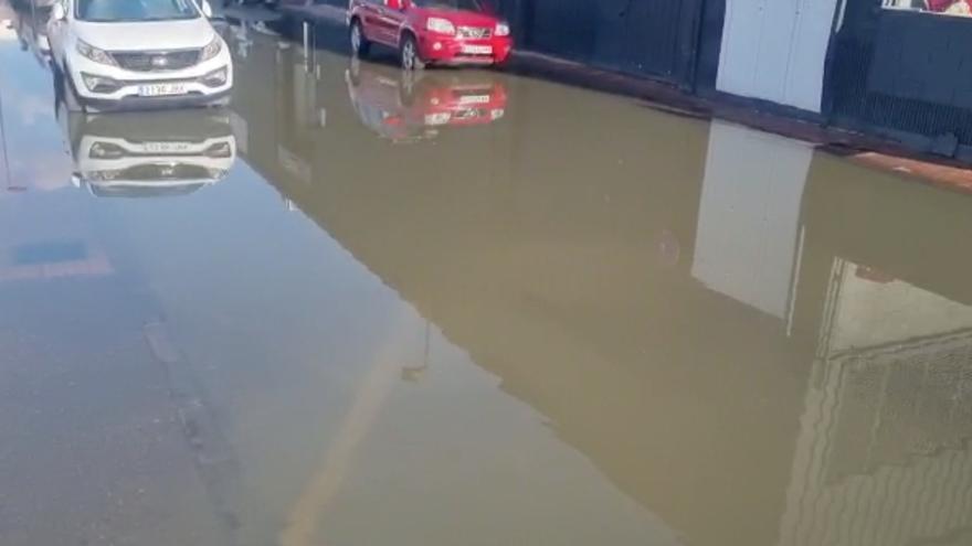 Nuevas inundaciones en el polígono Eurocentro de Ibiza