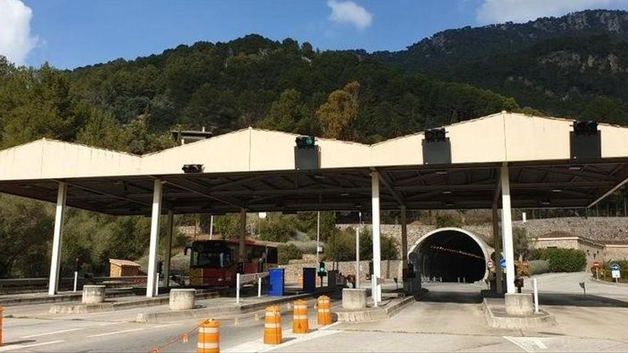 Inselrat Mallorca gestaltet Einfahrt zum Sóller-Tunnel um