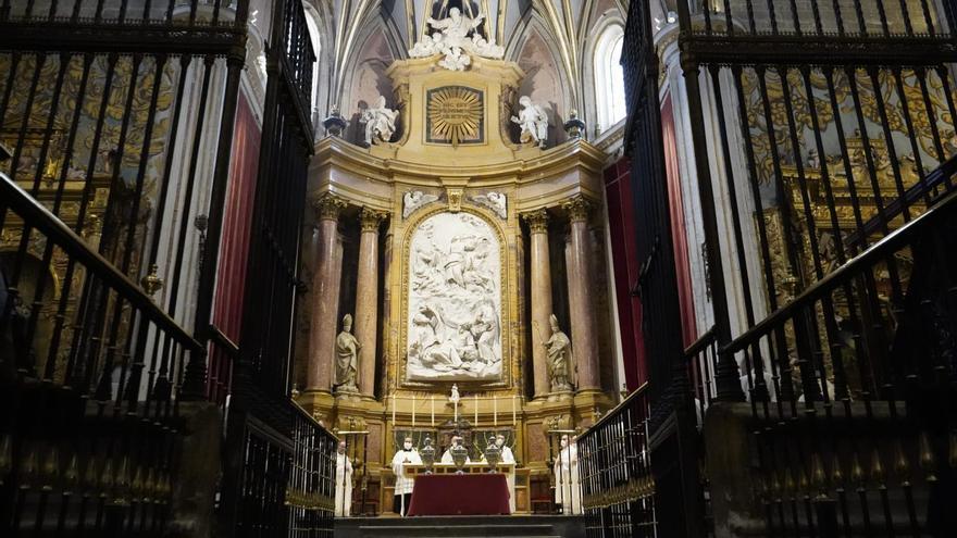La misa crismal de Ricardo Blázquez en Zamora, en imágenes