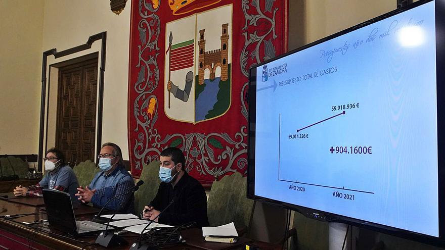 Zamora busca salir de la crisis con más gasto social y contención tributaria
