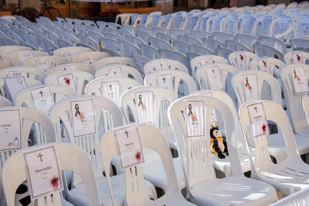 Ayuntamiento de Tárrega coloca 1.062 sillas ...