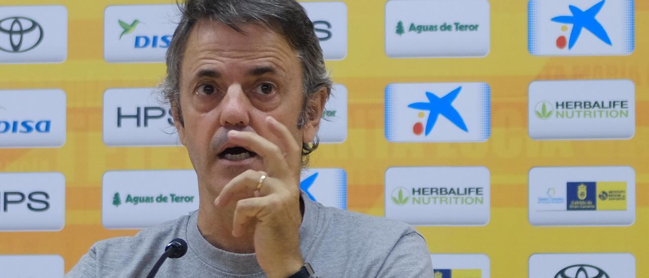 Porfi Fisac, entrenador del CB Gran Canaria