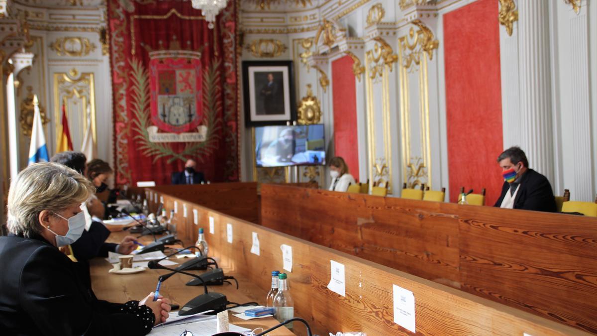 Pleno de Las Palmas de Gran Canaria de este viernes
