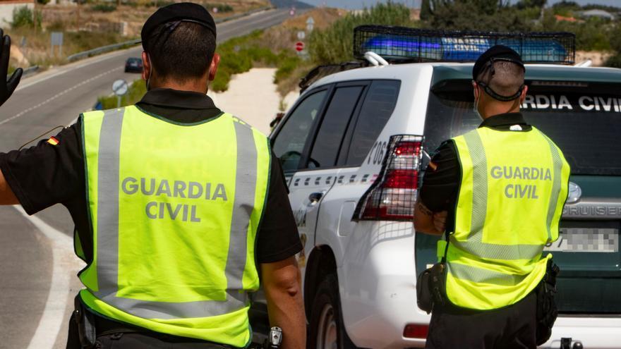 Un motorista muere una colisión en la carretera de Moraira a Benitatxell