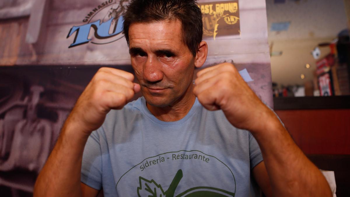 El exboxeador Poli Díaz.