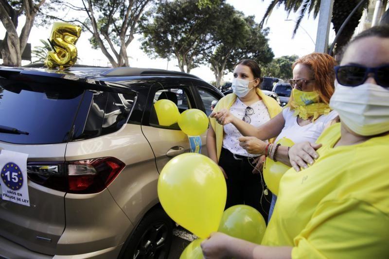 Protestas de enfermeros y auxiliares en Tenerife por contratos mediocres