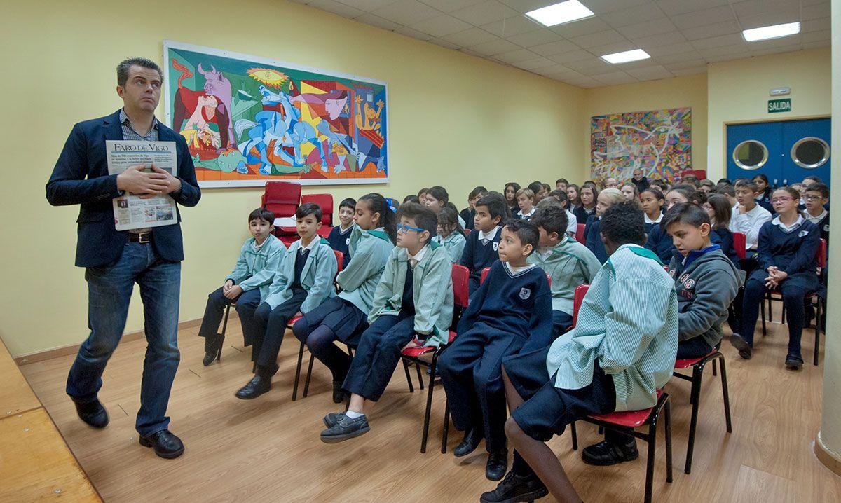 Visita a Faro de Vigo del CPR Mercantil, curso 2016-17