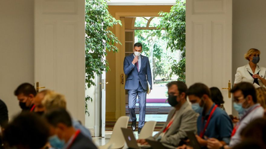 "Sánchez ve ""una pena"" que Aragonès no vaya a la Conferencia de Presidentes"
