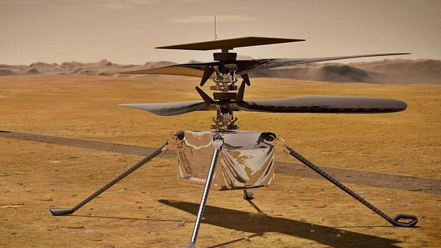 La NASA divulga los primeros sonidos del 'Perseverance' en la superficie de Marte