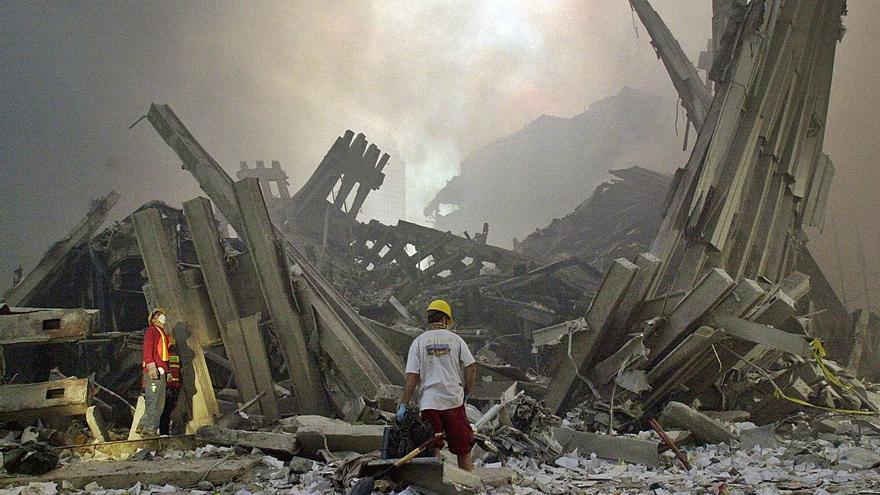 El vilagarciano que recogió los escombros de las Torres Gemelas