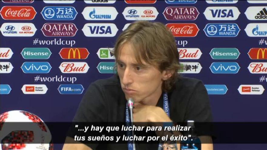 """Modric: """"Hay altibajos pero pase lo que pase, tienes que confiar y creer en ti mismo"""""""