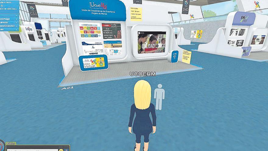 Treinta y cinco cooperativas de enseñanza de la Región participan en la I Feria virtual de Ucoerm