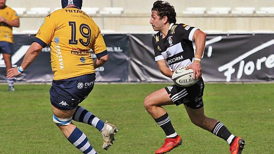 El calvianer 'Jalo' Piña se corona en Rugby a 7 con El Salvador de Valladolid