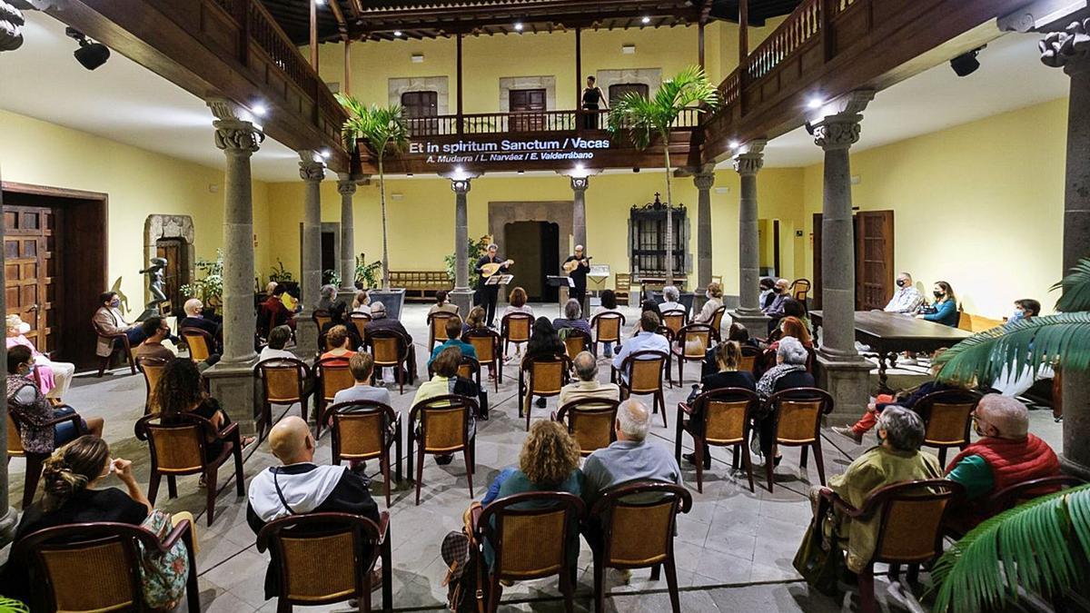 El concierto Alegrança 'A tierras ajenas', el pasado noviembre, en la Casa de Colón. | | EFE