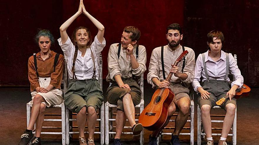 Otos serà la primera parada de la gira teatral de Las Pequeñas Europas