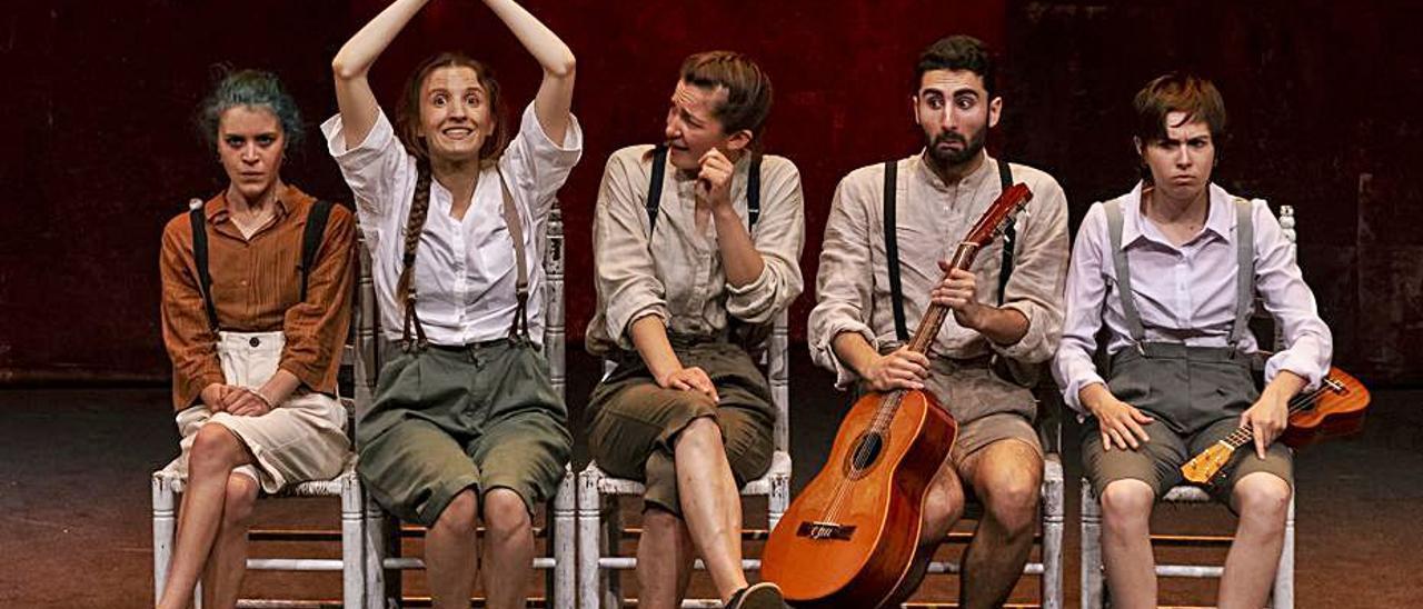 Actors i actrius de la representació «El viatge impossible» | LEVANTE-EMV